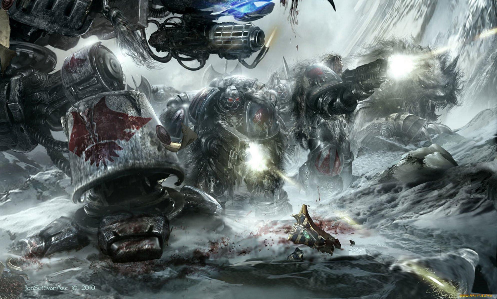 Warhammer 40000 видео игры 40k дредноут space